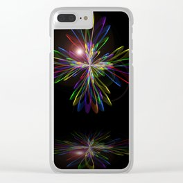 Abstract perfection - 103 Clear iPhone Case