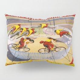 Vintage poster - Wild Wheel Whirl Wonders Pillow Sham