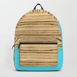 Dipped Wood - Zebrawood Backpack