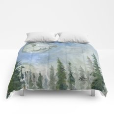 The Endor Morning Sky Comforters