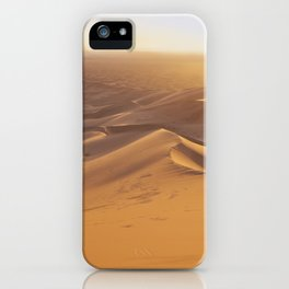 Sunset in the Sahara Desert iPhone Case