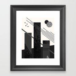 Turret Framed Art Print