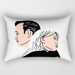 Strange Love: Lost in Translation Rectangular Pillow