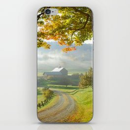 COUNTRY ROAD1 iPhone Skin