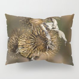 Burdock in the Fall Pillow Sham