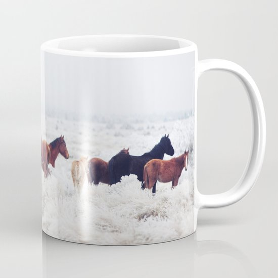 Winter Horseland Mug
