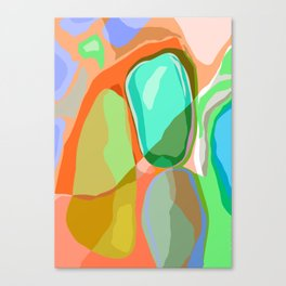 orgánica Canvas Print