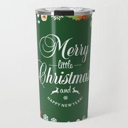 The Circle of Christmas Stuffs Travel Mug