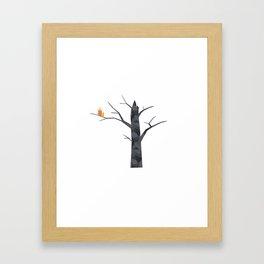 Shelter - Dead Tree Framed Art Print