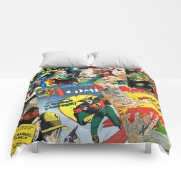 Comics Collage Comforters