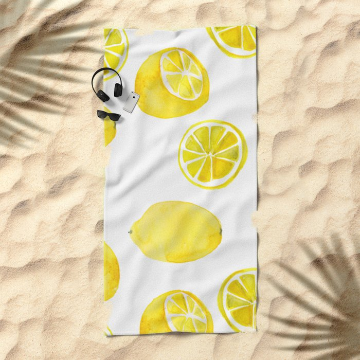 Lemon -ade Beach Towel