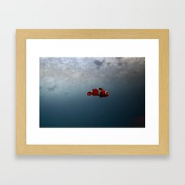 Bubble Framed Art Print