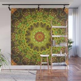 Dimensional Transition Mandala Wall Mural