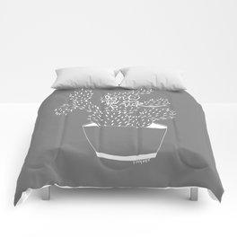 cactus in white Comforters