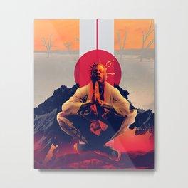 JOEY BADASS---ARTWORK IV Metal Print
