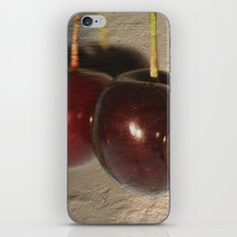 Frankish cherries iPhone Skin