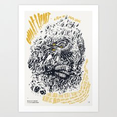 Wild At Heart / David Lynch Film Posters Art Print