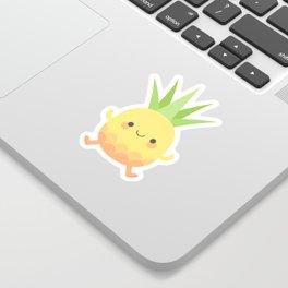 Happy pineapple kids Sticker