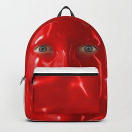 Red liquid Backpack