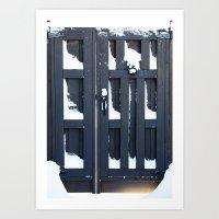 Snowgate Art Print
