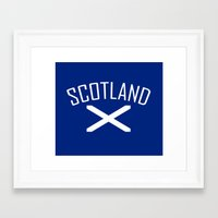 scotland Framed Art Prints featuring Scotland by Earl of Grey