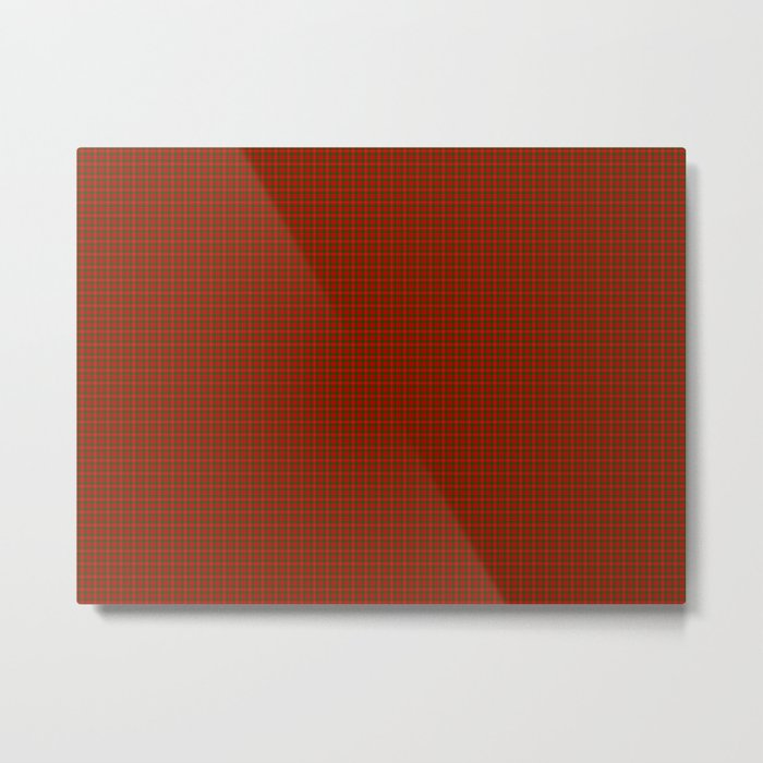 MacKinnon Tartan Metal Print