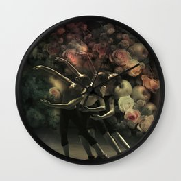 The Dancers Wall Clock