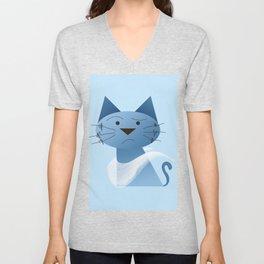 animaligon - Cat Unisex V-Neck