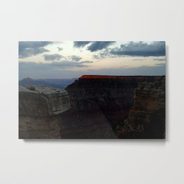 The Majestic Grand Canyon at Sunset Metal Print