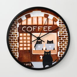 The Coffee Shop Wall Clock