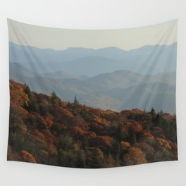 Blue Ridge Mountains Wall Tapestry