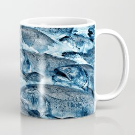 Pike Street Market Salmon by Crow Creek Coolture Coffee Mug