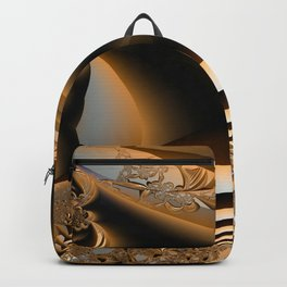 Golden layers of mysterious details Backpack