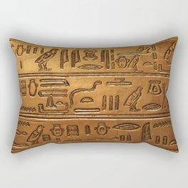 Hieroglyphs 2014-1020 Rectangular Pillow