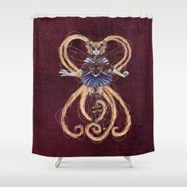 Steampunk Sailormoon Shower Curtain