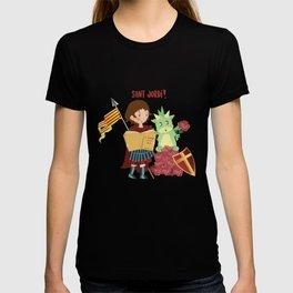 Saint Jordi (Sanint George) Catalunya T-shirt