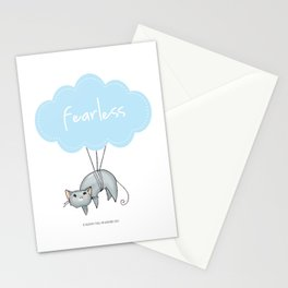 Fearless Cat Stationery Cards