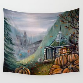 Gamekeeper's Autumn Wall Tapestry