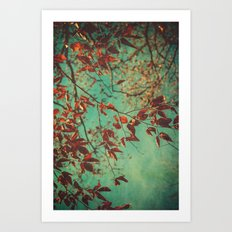 Her Dreams Were in the Treetops Art Print