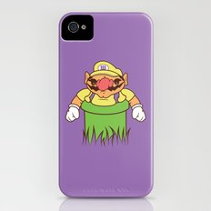 You're going to need a bigger warp pipe iPhone (4, 4s) Slim Case