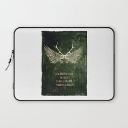 Dream within a Dream Laptop Sleeve