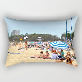 Moo Beach Rectangular Pillow