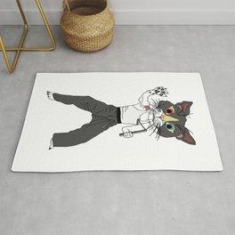 Karate Cat Rug