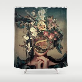 Full of life Shower Curtain