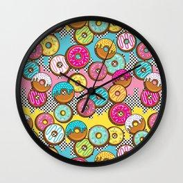 Donut Shop Wall Clock