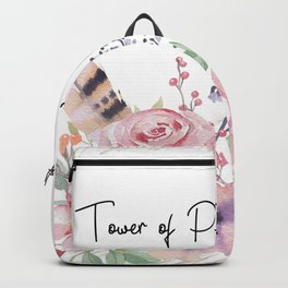 Flowers bouquet #28 Backpack