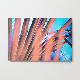 Bleached Palms Metal Print