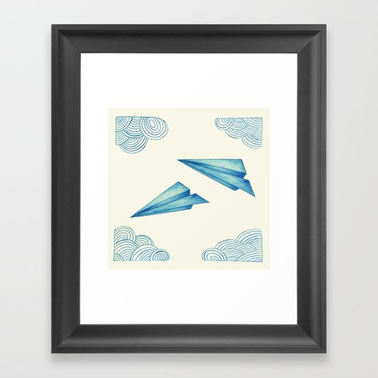 High Flyer Framed Art Print