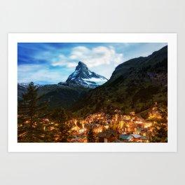 Matterhorn Zermatt Art Print