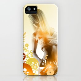 Granny Delicious iPhone Case